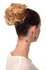 Hairpiece Bun Topknot 60er Jahre Vintage Took Curly Gold-blonde nha-004a-25