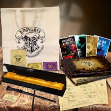 Harry Potter Style Wizards MAGIC WAND! + Box & Map + Hogwarts Express Ticket