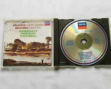 BRAHMS violin sonata FRANCK Horn trio/ASHKENAZY-PERLMAN-TUCKWEL W.GERMANY CD PDO