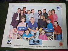 Neighbours 1989 Calendar Album Kylie Minogue & Jason Guy Pearce Craig McLachlan