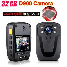 Compact Portable 1080P Body Police Camera IR Night Vision 32GB DVR Recording A12