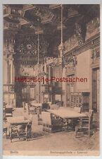 (110422) AK Berlin, Lesesaal im Reichstagsgebäude, 1917