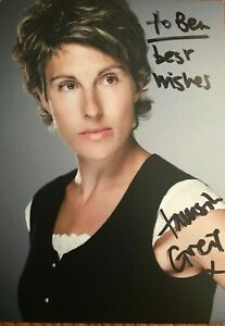 Tamsin Greig,  Hand signed autographed photo with COA