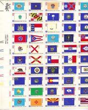 Timbres des États-Unis multicolore