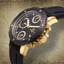 Aubert Freres Chronograph Corbitt Mens Watch / MSRP $899.99 (AVAIL. IN 3 COLORS)