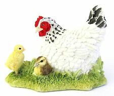 "Light Sussex Hen & Chicks? - """"That's My Mam""""  Border Fine Arts figurine A26105"
