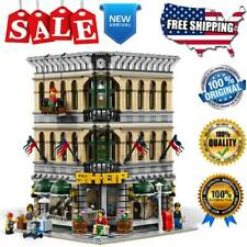 Building Blocks Sets Street Creator 15005 Grand Emporium Bricks Model Kids Toys