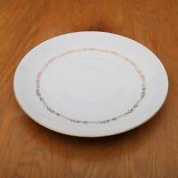 Mikasa Stanton 5405 Round Serving Platter Plate Gold Flowers