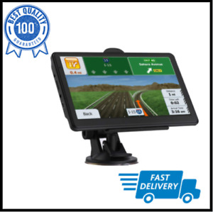 """9""""GPS Semi Truck Commercial Driver Accessories Navigation System Trucker Black"""