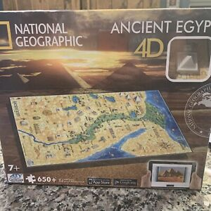 NEW National Geographic Ancient Egypt Jigsaw Puzzle 650+ Pc 4D Cityscape Ages 7+