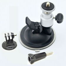 360° Rotating suction cup+adapter+Screw for GOPRO HERO 6 5 4 3+ 3/xiao yi/5s 4s