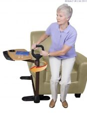 Stander Assist Tray Table Cane Grab Bar Pivoting Swivel Handle Over Chair & Sofa