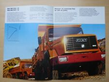 FIAT 190 PAC.26 + PAT.25 truck  brochure in French, MY 1992??