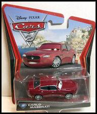 CARS 2 - CARLO MASERATI - Mattel Disney Pixar