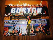 Jeb Burton Signed 8x10 Photo NASCAR COA autograph
