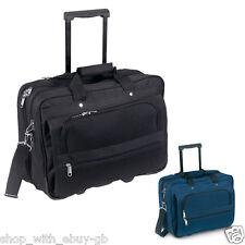 Blue Executive Cabin Laptop Business Suitcase Briefcase Pilot Trolley Case Bag