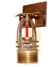 "155*F 3/4"" NPT ECQR Brass Horizontal Sidewall Fire Sprinkler Head K 8.0"