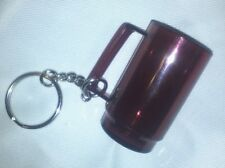 TUPPERWARE KEY CHAIN CRANBERRY WATERCOLOR MUG