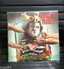 QUIET RIOT - Condition Critical - Pasha QZ 39516 - METAL LP