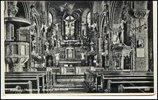 Kirche ARENBERG (Roter Hahn) um 1920 Innenansicht Inneres der Kirche alte AK