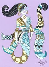 EL GATO GOMEZ RETRO PUCCI FASHION ILLUSTRATION POP ART MOD VOGUE MERMAID 1960S