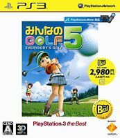 Minna no Golf 5 (PlayStation3 the Best) [Japan Import]