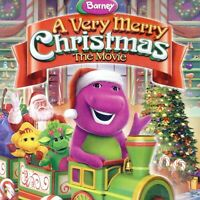 Barney: A Very Merry Christmas 2011 kids movie, new DVD Santa North Pole holiday