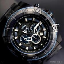 Invicta Marvel Black Panther Speedway Viper Chronograph Steel 52mm Watch New