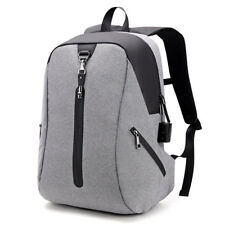 Alarm System Men Anti-theft Backpack Water Repellent Business Travel Laptop Back