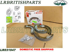 LAND ROVER BRAKE PARKING SHOES SET RANGE ROVER SPORT 05-13 LR4 LR3 NEW LR031947