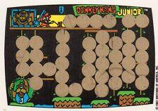 Donkey Kong Jr. Rubbelkarte - Nintendo 1983 - Game & Watch