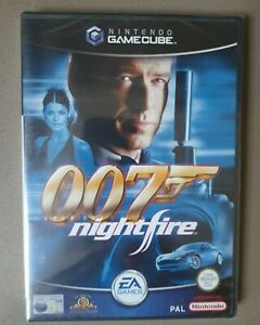 Nintendo Gamecube James Bond 007 Nightfire Game EA UK PAL **NEW & SEALED**
