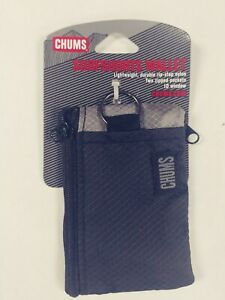 Chums Surfshort Wallet -18401 Black/gray-NWT