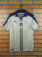 Italy Italia soccer jersey Small 2016 2017 away shirt football Puma