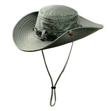 Summer Anti-UV Sun Protect Bucket Boonie Hat Tactical Wide Brim Fishing Hats Cap