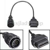 14 to 16Pin OBD2 Adaptor Cable For Mercedes Benz Sprinter/Volkswagen VW LT Van