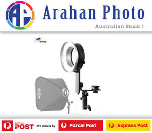 A1PRO BOWENS MOUNT L-BRACKET WITH BOWENS RING FOR GODOX V1