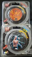 Sealed in Package Steve Austin & The Rock WWF Yo-Yo- Lights and Sound!
