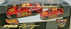 Hot Wheels Pro Racing Series NASCAR 2 Pack 1:43 & 1:64 Diecast Stock Car #94