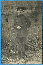 CPA-PHOTO: Soldat du 2° Régiment de Zouaves / Guerre 14-18