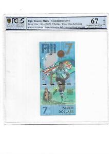 Fiji 7 Dollars 2016/2017 P 120 a Superb Gem UNC PCGS 67 OPQ