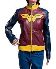 Wonder Woman Leather Jacket
