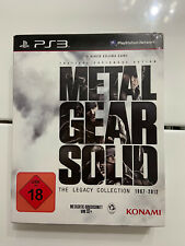 Metal Gear Solid: The Legacy Collection Pal Ita Playstation 3 Ita