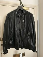Zara Mens Bomber Real Leather Jacket , Small And Large
