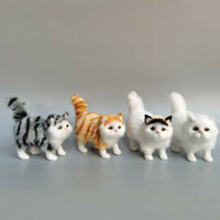 Lovely Simulation Plush Cat Toys Stuffed Doll Kids Gift Ornaments TOY