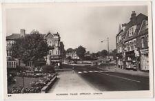 Alexandra Palace Approach, London RP Postcard B853