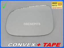 VOLVO s80 2007-2015 Wing Mirror Glass CONVEX + TAPE Left Side #131