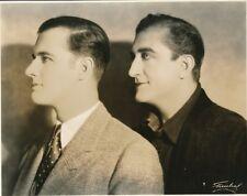 FRANCIS X BUSHMAN & Son Original Vintage 1928 FREULICH DBW Silent Portrait Photo
