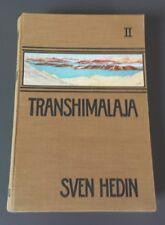 Transhimalaja Band 2 Sven Hedin mit Karte (j)