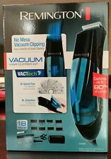 NEW REMINGTON VACUUM HOME HAIRCUTTING CLIPPERS KIT Trimmer SHIPS FAST🚛💨